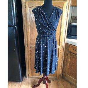 Ralph Lauren Polka Dot Dress Size 8